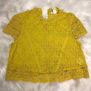 Forever 21 Knit Top Short Sleeve